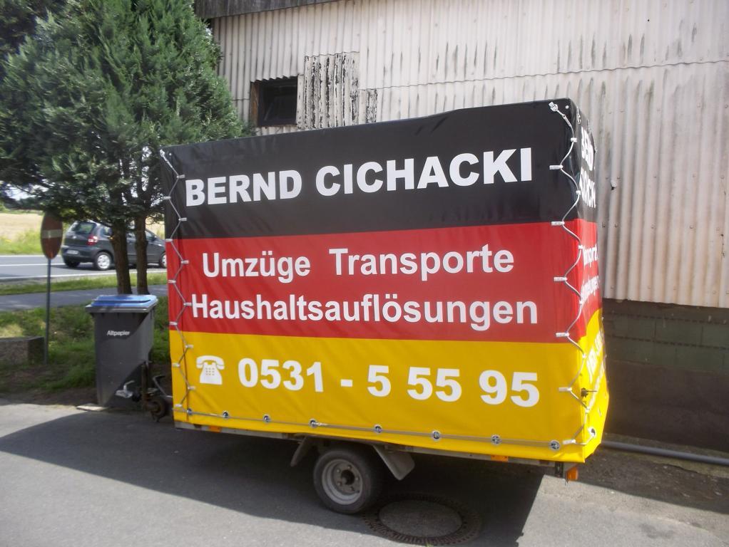 Anhänger Cichacki Dienstleistungen